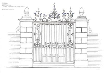 metal-gate-repairs-bromley-college-gates-architect-drawing-2