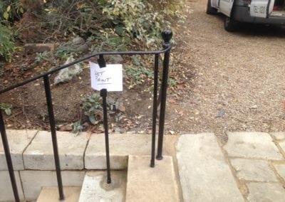 metal-handrail-restoration-kent-bromley-college-handrails-3