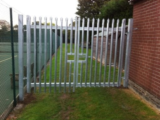 New Metal Gates for Bancroft's School Sports Ground, Woodford Green, Essex