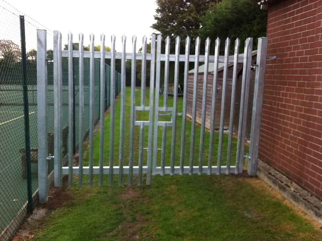 New Metal Gates For Bancroft S School Sports Ground