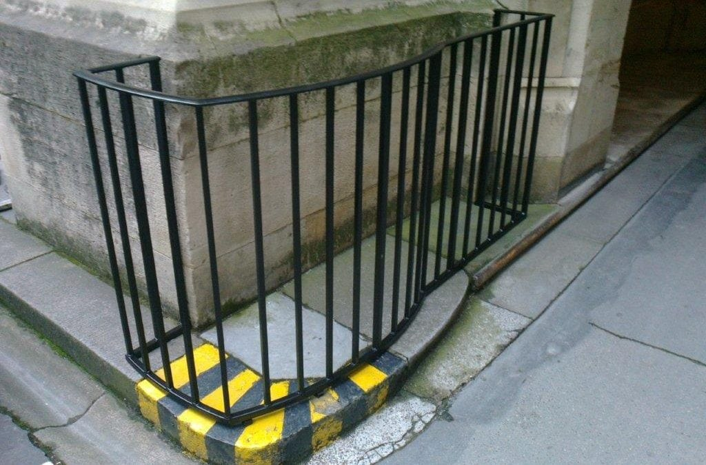 Steel Guardrails, London