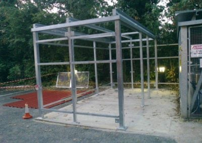 Metal Cage Fabrication The Holly Hospital Buckhurst Hill Essex 3