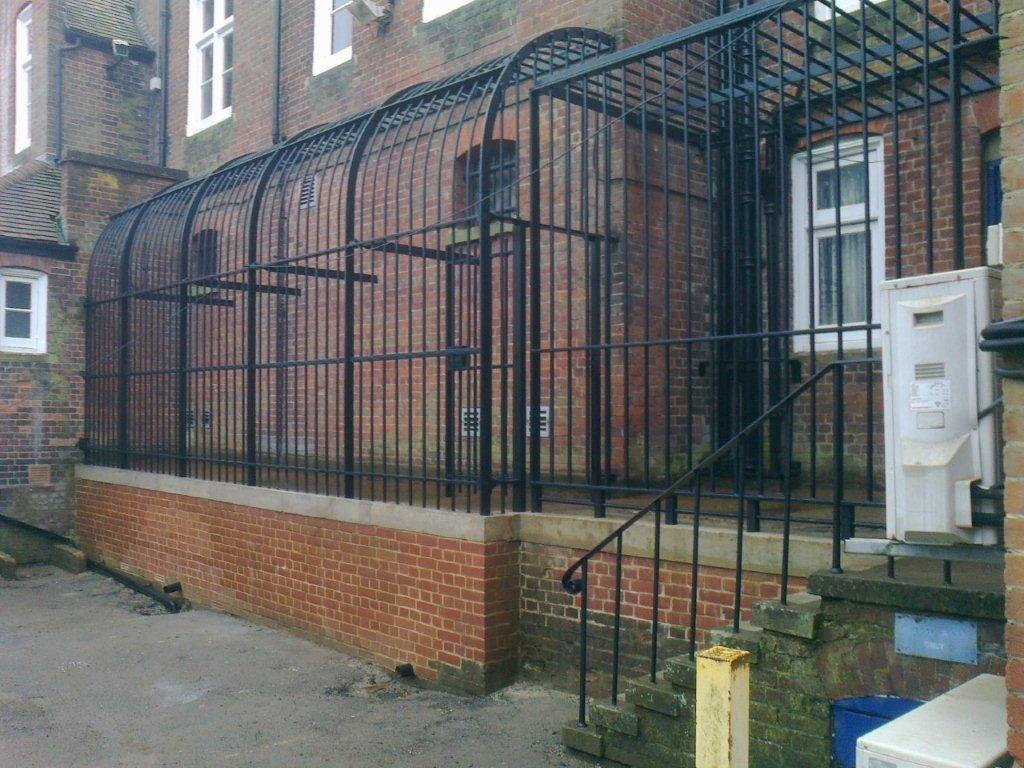 Saffron Walden Metal Fabrication Railing Repairs 2