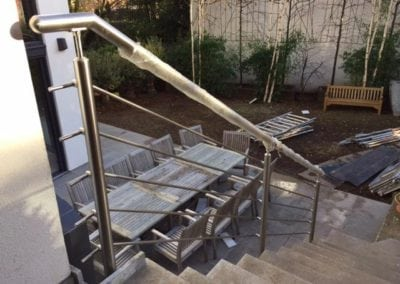 Stainless Steel Handrail Fabrication London NW3 2