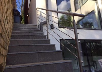 Stainless Steel Handrail Fabrication London NW3 3