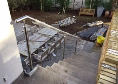 Stainless Steel Handrail Fabrication London NW3 5