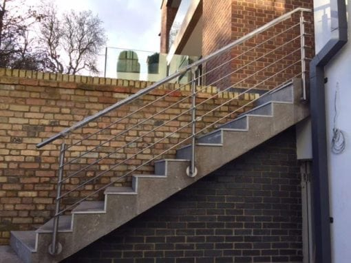 Stainless Steel Handrails Fabrication, Hampstead, London NW3