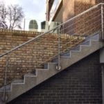 Hampstead Stainless Steel Balutrade