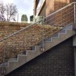 Hampstead Stainless Steel Balutrade