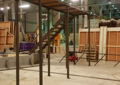 Metal Walkway for TV Show the Crystal Maze 2