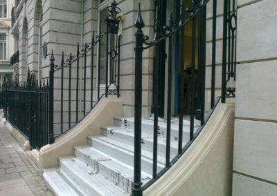 New Wrought Iron Railings Mayfair W1