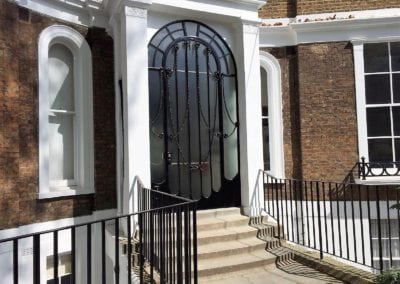 Refurbishment of Metal Door, Porchester Terrace, London W2