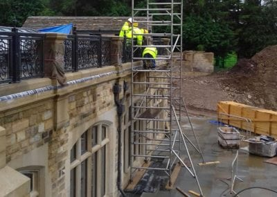 Wrought Iron Railing Fabrication for New Mansion in Lancashire 5