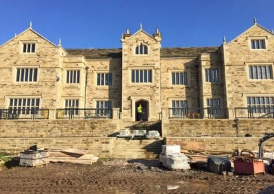 Wrought Iron Railings for New Mansion in Lancashire 3