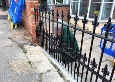 Railing Repairs for Maldon Council 6