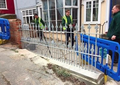 Railing Repairs for Maldon Council 8