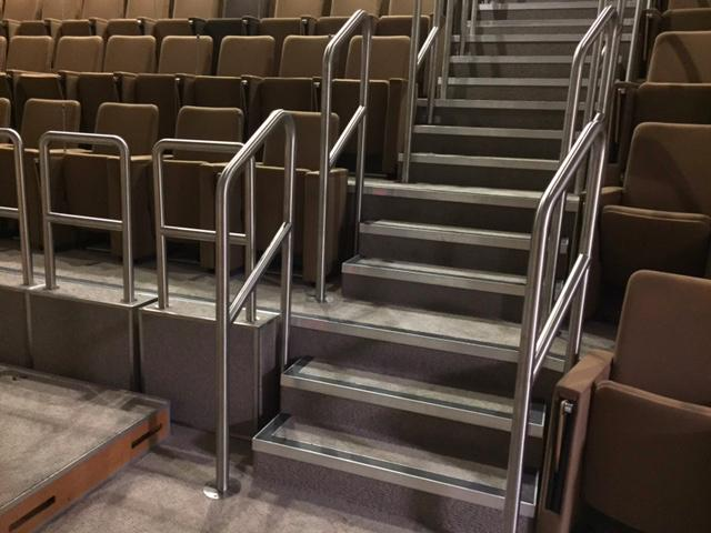 Stainless Steel Handrails Grade Ii Listed Building