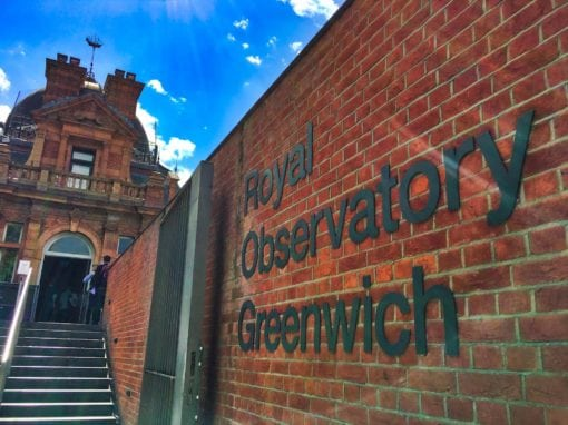 Royal Observatory Gates, Greenwich, London SE10