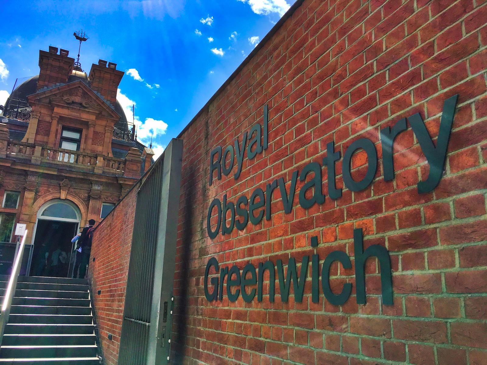 Royal Observatory Gates Greenwich London Se10 Metal