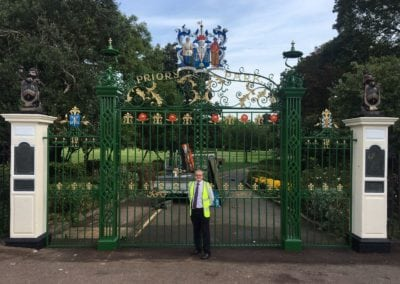 Priory Park Gate Refurbishment 29
