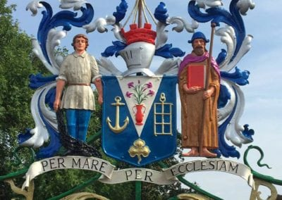 Refurbishment of Priory Park Gates, Southend-on-Sea, Essex 10