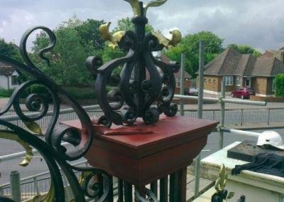 Refurbishment of Priory Park Gates, Southend-on-Sea, Essex 3