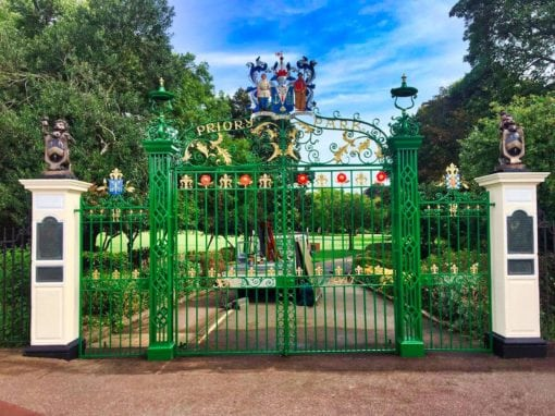 Refurbishment of Priory Park Gates, Southend-on-Sea, Essex