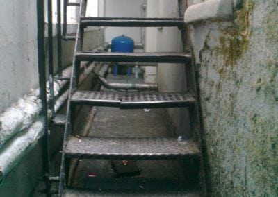Staircase Repairs, Albemarle Street London W1 3