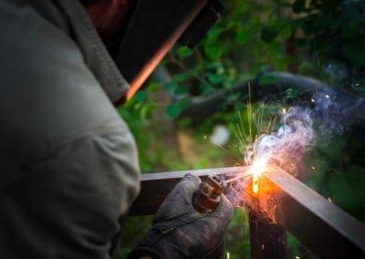 On Site Metal Handrail Repairs