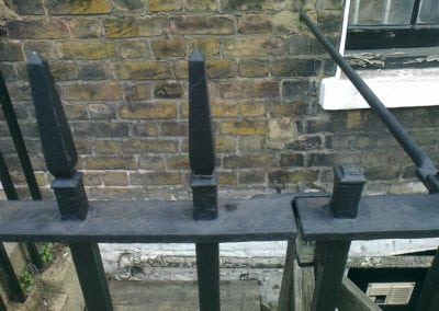 Railing and Gate Repairs, Charlton Place, Islington, London N1 5