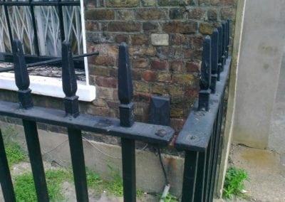 Railing and Gate Repairs, Charlton Place, Islington, London N1 6