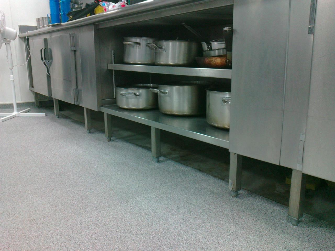 Stainless steel kitchen plinths for bancroft s school woodford green essex metal fabrication - Kitchen plinths ...