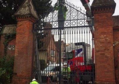 Grade II Listed Gates Refurbishment in Berkshire 11