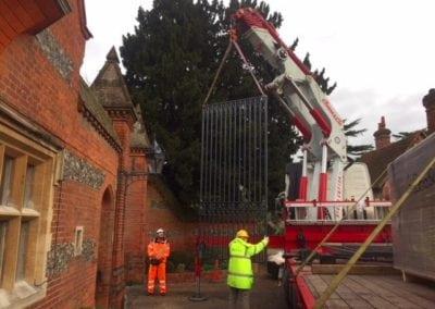 Grade II Listed Gates Refurbishment in Berkshire 18