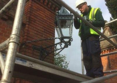 Grade II Listed Gates Refurbishment in Berkshire 22