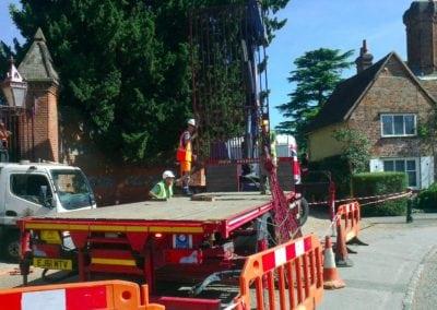 Grade II Listed Gates Refurbishment in Berkshire 25
