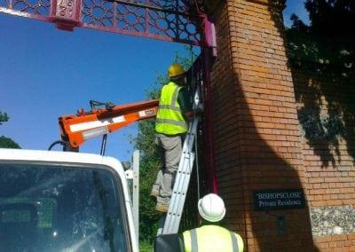 Grade II Listed Gates Refurbishment in Berkshire 26