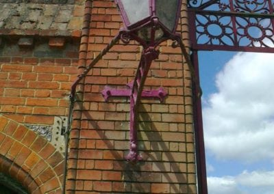 Grade II Listed Gates Refurbishment in Berkshire 29