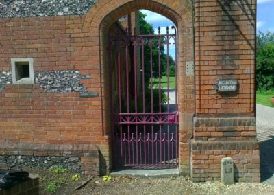 Grade II Listed Gates Refurbishment in Berkshire 31