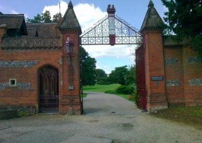 Grade II Listed Gates Refurbishment in Berkshire 32