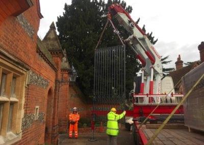 Grade II Listed Gates Refurbishment in Berkshire 9