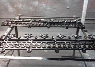 Railing Repairs, King's Cross, London N1 4