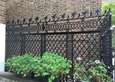 Railing Repairs, King's Cross, London N1