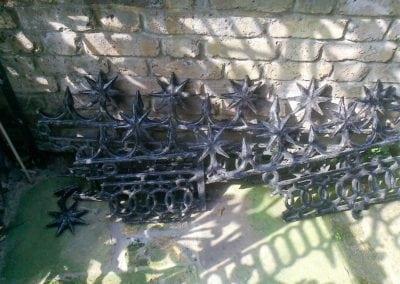 Railing Repairs, King's Cross, London N1 5