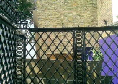 Railing Repairs, King's Cross, London N1 8
