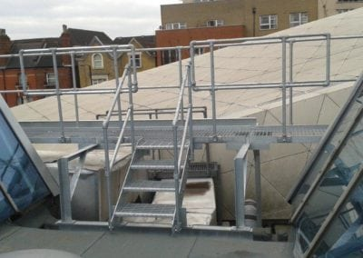 Metal Roof Walkway Repairs