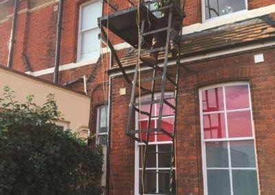 Fire Escape Repairs, Brentwood School, Essex CM15 5