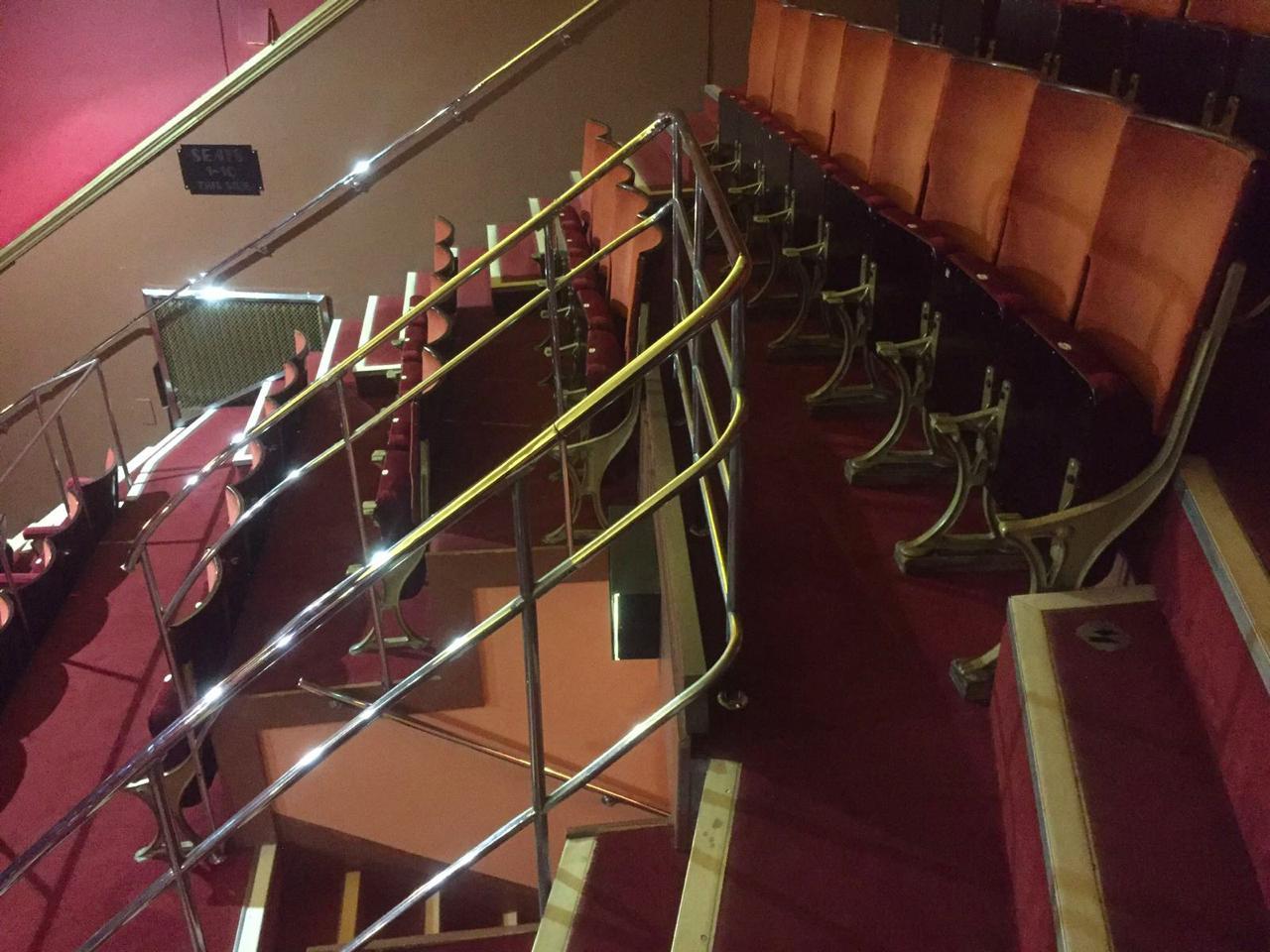 Handrail Repairs Adelphi Theatre London W1 Metal