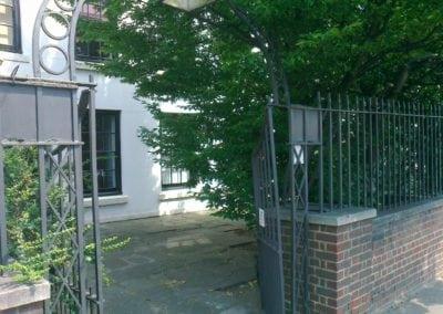 Metal Gate Repairs Grade II Listed 18th Century Property, Wanstead, London E11 7