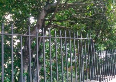 Metal Gate Repairs Grade II Listed 18th Century Property, Wanstead, London E11 8
